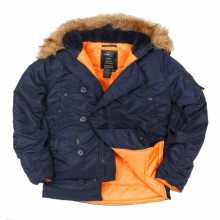 Парка Nord Storm Аляска N3B regular blue/orange