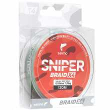 Леска Salmo плетёная Sniper BRAID Army Green 091 014