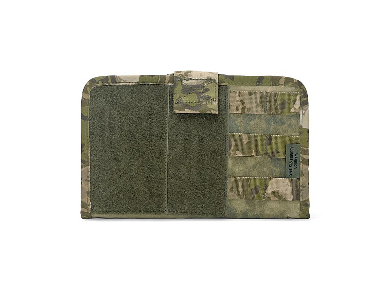 Командная MOLLE-панель Command Panel Gen2 Warrior Assault Systems c липучками Velcro, цвет – A-TACS FG