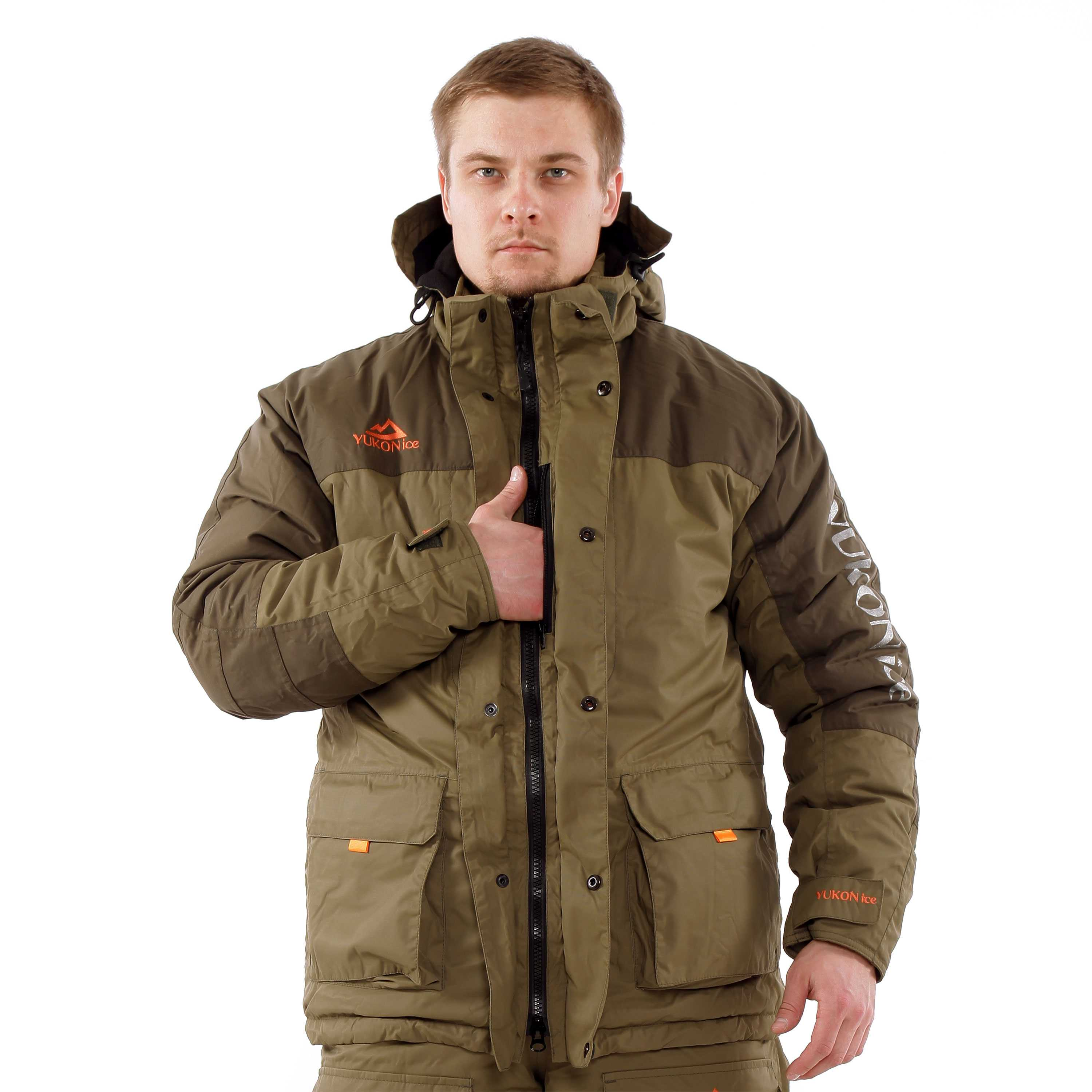 Костюм Huntsman Yukon Ice Breathable хаки/олива