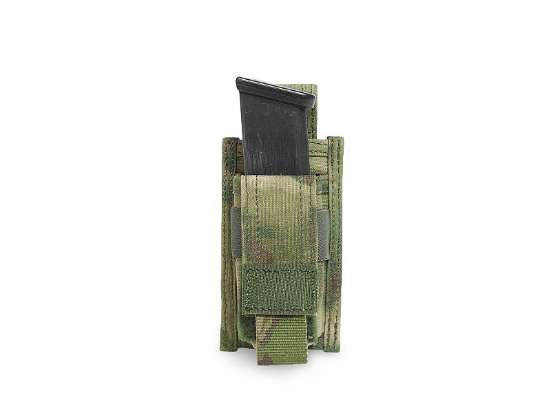 Подсумок для пистолетного магазина Direct Action Single DA 9mm Pistol Pouch Warrior Assault Systems, цвет – A-TACS FG