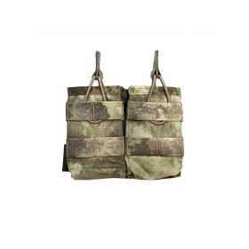 Подсумок Double MOLLE Open AK 7.62mm Warrior Assault Systems двойной открытый, цвет – A-TACS AU